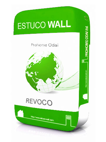 外装用塗り壁材「Revoco」