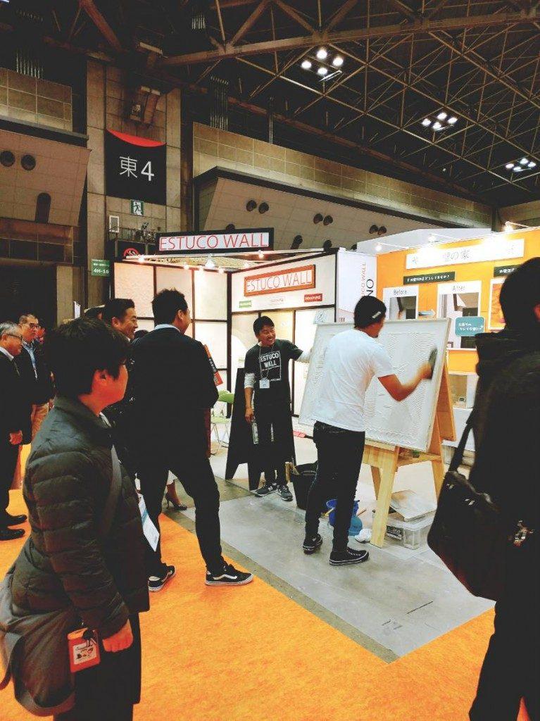 エスタコウォール『ジャパンホームショー2018』出展中!