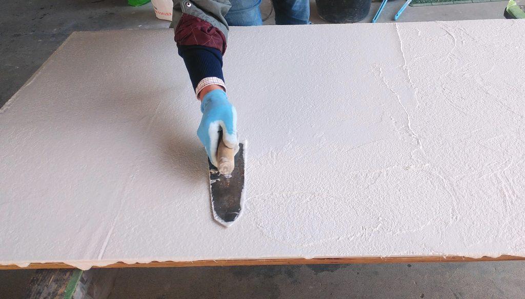スペイン漆喰「ESTUCO WALL」塗りサンプル